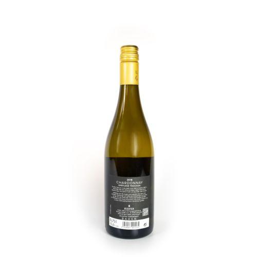 Kiefer Ortenberg Chardonnay Spätlese 2018 – Prädikatswein trocken - Rückseite