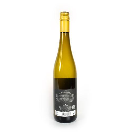 Weingut-Kiefer-Ortenberg-Wein-Erlesen-kaufen-Wein-Jahrgang-2019-Riesling-Kabinett-feinherb-Rückseite