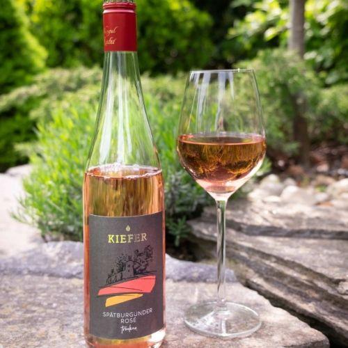 Weingut-Kiefer-Ortenberg-Wein-Erlesen-kaufen-Wein-Jahrgang-2018-Rose-Spätburgunder-trocken