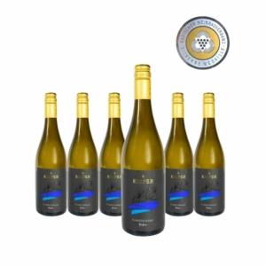 Weingut-Kiefer-Ortenberg-Wein-Erlesen-kaufen-Wein-Jahrgang-2018 - Chardonnay - Spätlese-trocken-6 Flaschen-Medaille