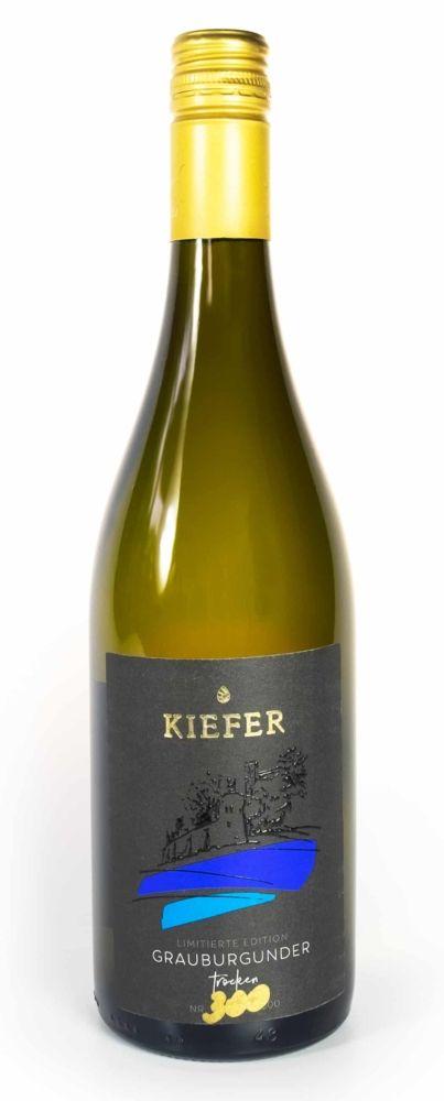 Weingut-Kiefer-Ortenberg-Wein-Erlesen-kaufen-Wein-Jahrgang- 2018 - Grauburgunder - Spätlese trocken - Flasche