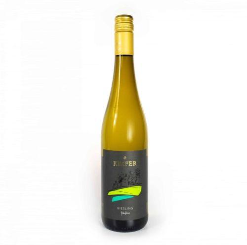 2020-09-06-Weingut-Kiefer-Ortenberg-Wein-Erlesen-kaufen-Wein-Jahrgang- 2018 - Riesling - Spätlese - trocken - Flasche