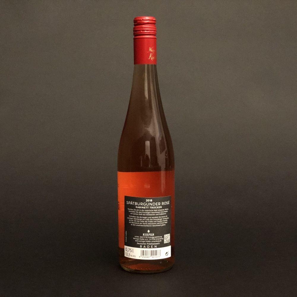 Weingut-Kiefer-Ortenberg-Wein-Weisswein-2018-Spaetburgunder-Rose-trocken-Rueckseite